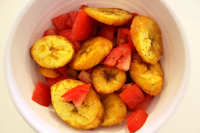 Fried Plantain Salad
